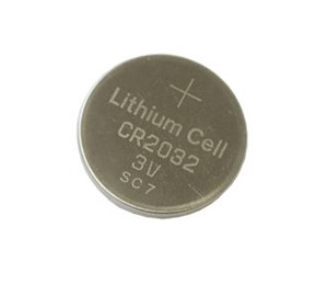 3V 210mAh Lithium coin cell battery (CR2032)